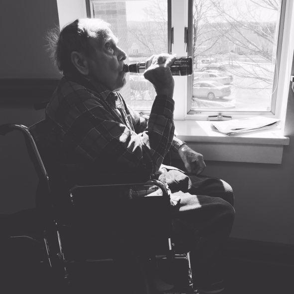 """One for the Road""- A Grandfather's Last Beer"