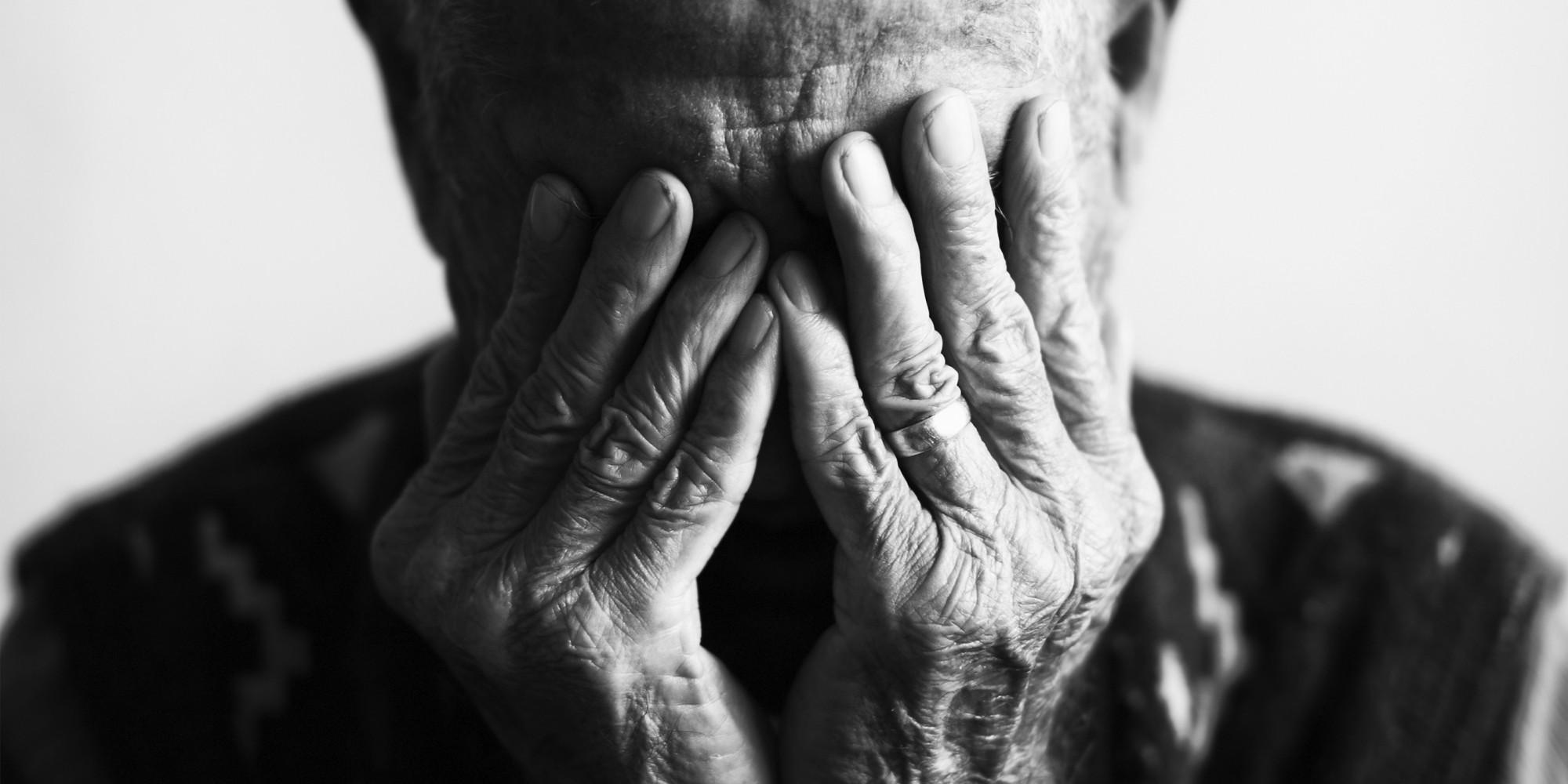 old man grief