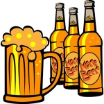 alcohol cartoon
