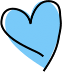blue-heart-clipart-funky-blue-heart