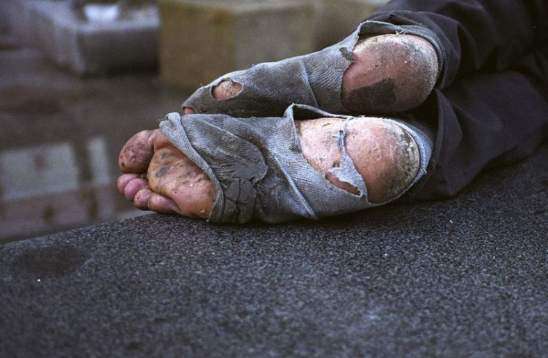 Image result for homeless shoes
