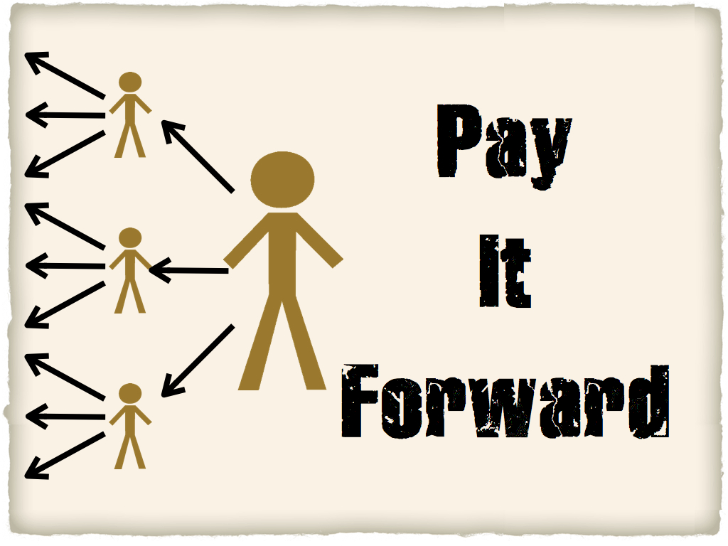 Pay It Forward Quotes Paying It Forwardliterally  Kindness Blog
