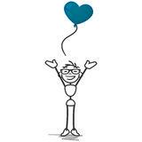 stick-figure-sick-man-love-balloon-heart-vector-illustration-happy-red-shaped-39394900